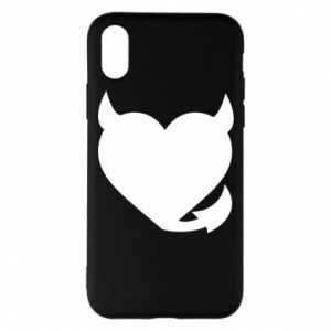 Phone case for iPhone X/Xs Devil's heart