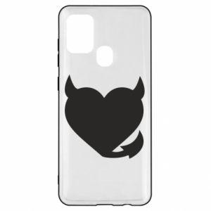 Samsung A21s Case Devil's heart