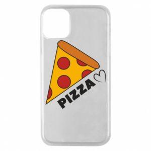 Etui na iPhone 11 Pro Serce miłość pizzy