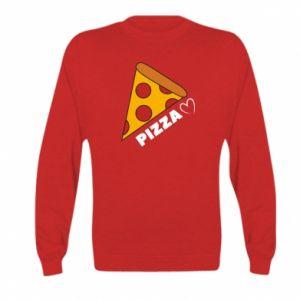 Bluza dziecięca Serce miłość pizzy