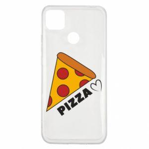 Etui na Xiaomi Redmi 9c Serce miłość pizzy