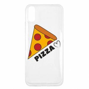Etui na Xiaomi Redmi 9a Serce miłość pizzy