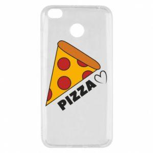 Etui na Xiaomi Redmi 4X Serce miłość pizzy
