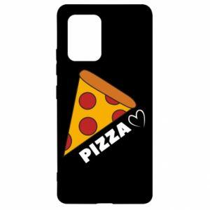 Etui na Samsung S10 Lite Serce miłość pizzy