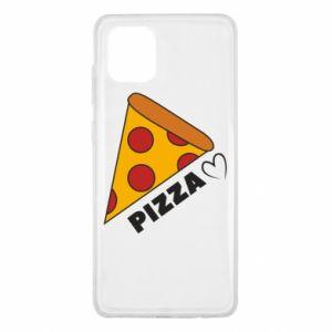 Etui na Samsung Note 10 Lite Serce miłość pizzy