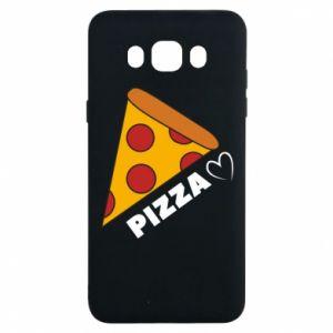 Etui na Samsung J7 2016 Serce miłość pizzy