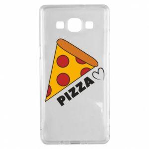 Etui na Samsung A5 2015 Serce miłość pizzy