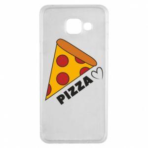 Etui na Samsung A3 2016 Serce miłość pizzy