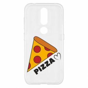 Etui na Nokia 4.2 Serce miłość pizzy