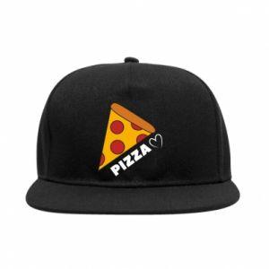 Snapback Serce miłość pizzy