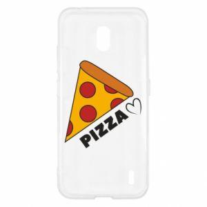 Etui na Nokia 2.2 Serce miłość pizzy