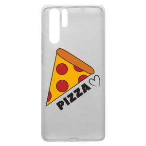 Etui na Huawei P30 Pro Serce miłość pizzy
