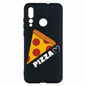 Etui na Huawei Nova 4 Serce miłość pizzy
