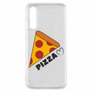 Etui na Huawei P20 Pro Serce miłość pizzy