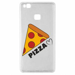 Etui na Huawei P9 Lite Serce miłość pizzy