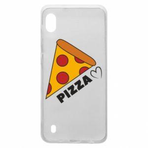 Etui na Samsung A10 Serce miłość pizzy
