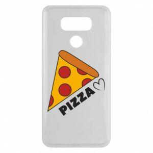 Etui na LG G6 Serce miłość pizzy