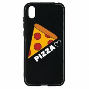 Etui na Huawei Y5 2019 Serce miłość pizzy