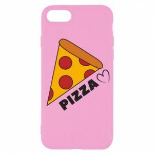 Etui na iPhone SE 2020 Serce miłość pizzy