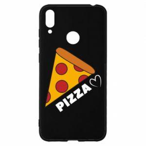Etui na Huawei Y7 2019 Serce miłość pizzy