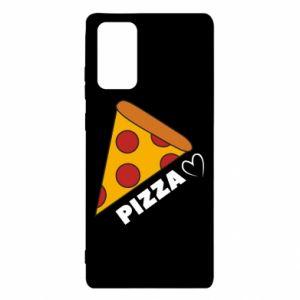 Etui na Samsung Note 20 Serce miłość pizzy