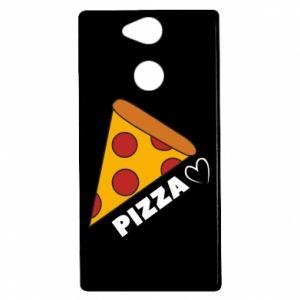 Etui na Sony Xperia XA2 Serce miłość pizzy