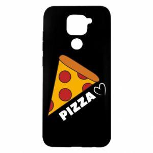 Etui na Xiaomi Redmi Note 9/Redmi 10X Serce miłość pizzy