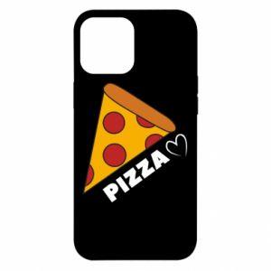 Etui na iPhone 12 Pro Max Serce miłość pizzy