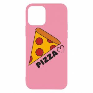 Etui na iPhone 12/12 Pro Serce miłość pizzy