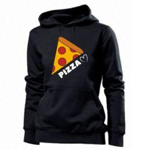 Damska bluza Serce miłość pizzy