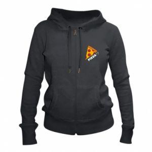 Damska bluza na zamek Serce miłość pizzy