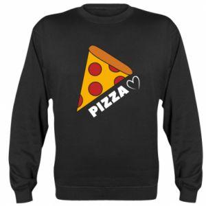 Bluza (raglan) Serce miłość pizzy