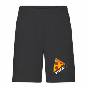 Męskie szorty Serce miłość pizzy