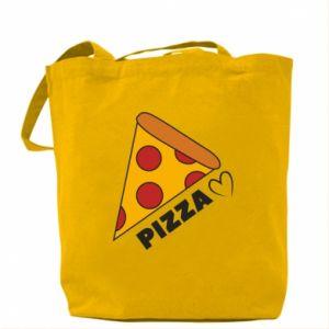 Torba Serce miłość pizzy