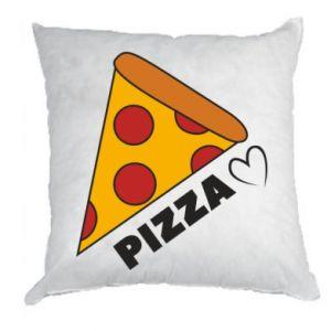 Poduszka Serce miłość pizzy