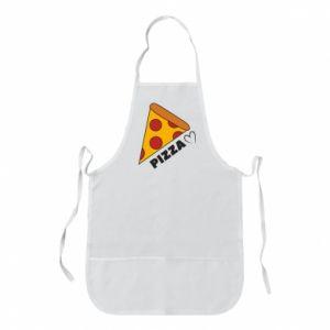 Fartuch Serce miłość pizzy