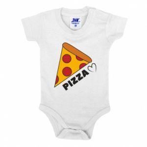 Body dla dzieci Serce miłość pizzy