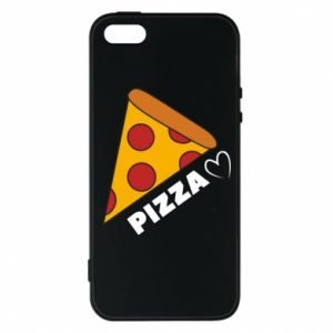 Etui na iPhone 5/5S/SE Serce miłość pizzy