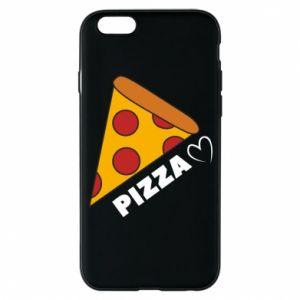 Etui na iPhone 6/6S Serce miłość pizzy
