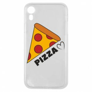 Etui na iPhone XR Serce miłość pizzy