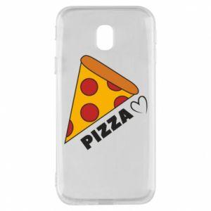 Etui na Samsung J3 2017 Serce miłość pizzy