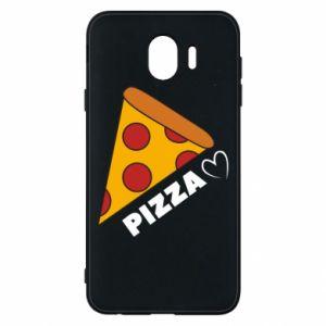 Etui na Samsung J4 Serce miłość pizzy