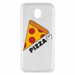 Etui na Samsung J5 2017 Serce miłość pizzy