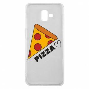 Etui na Samsung J6 Plus 2018 Serce miłość pizzy
