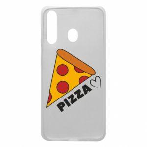 Etui na Samsung A60 Serce miłość pizzy