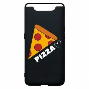 Etui na Samsung A80 Serce miłość pizzy