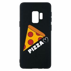 Etui na Samsung S9 Serce miłość pizzy