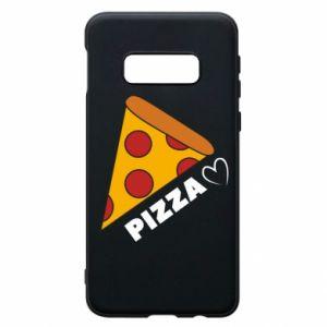 Etui na Samsung S10e Serce miłość pizzy