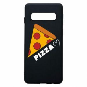 Etui na Samsung S10 Serce miłość pizzy