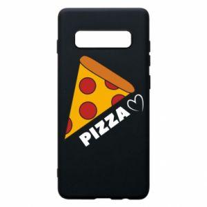 Etui na Samsung S10+ Serce miłość pizzy